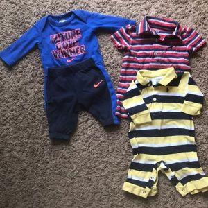 Polo and Nike baby boy bundle